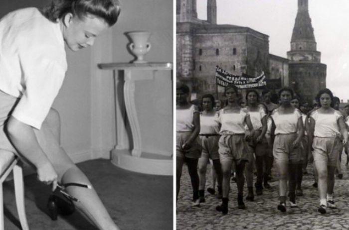 Вот какое нижнее белье приходилось носить советским женщинам