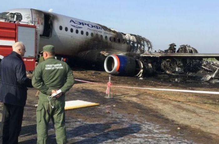 Катастрофа в Шереметьево: обнародовано еще одно страшное видео