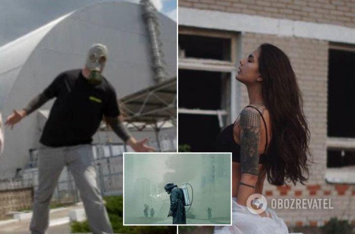 В Сети разразился скандал из-за откровенных кадров в Чернобыле