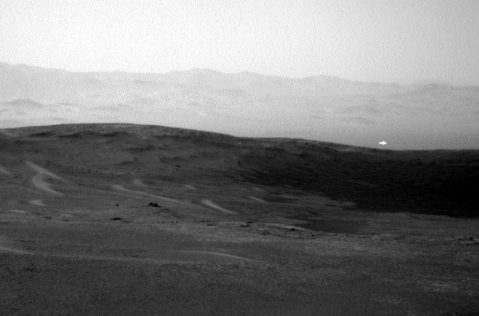 На Марсе обнаружили НЛО в форме диска. ВИДЕО