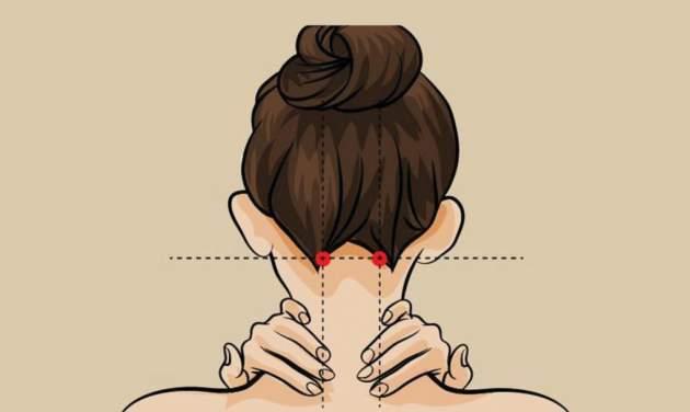Вот как простыми нажатиями избавиться от головной боли. ФОТО