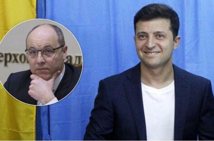 Парубий накинулся на Зеленского из-за отвода сил и долбанул планом Путина. ВИДЕО