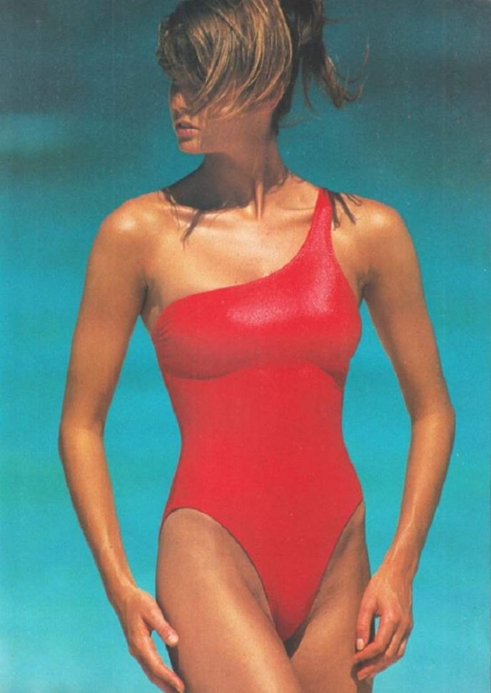Как выглядели модели 80-х до появления силикона и фотошопа. ФОТО