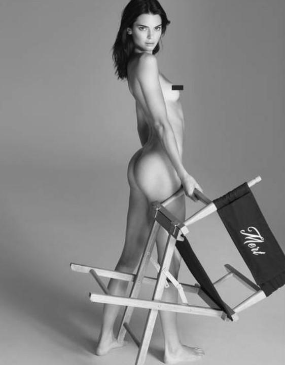 В костюме Евы: Кендалл Дженнер показала все прелести своей фигуры