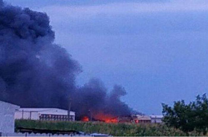 Масштабный пожар под Киевом: жителей столицы просят закрыть окна и пить минералку. ВИДЕО