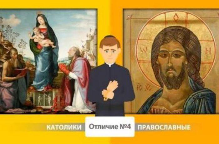 В чем разница между католиками и православными? Простые ответы на сложные вопросы. ВИДЕО