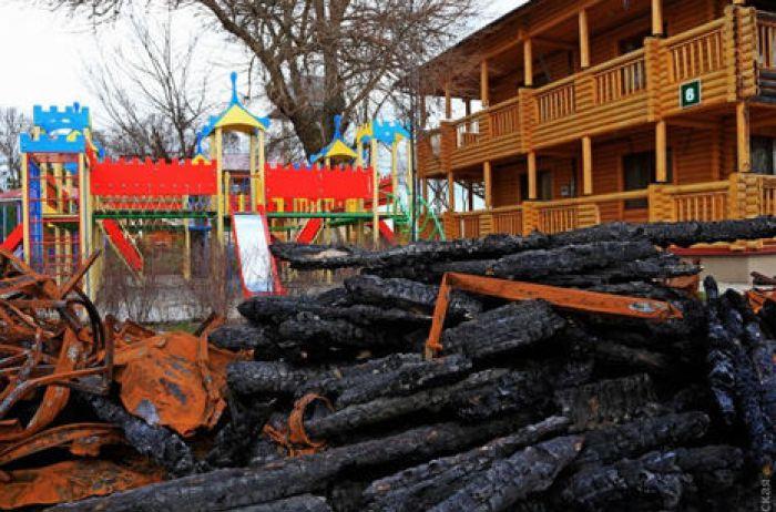 Впервые после пожара: в одесский лагерь «Виктория» заселили детей