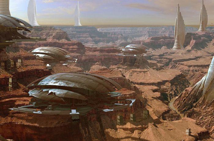 Известный уфолог нашел на Марсе целый город. ВИДЕО
