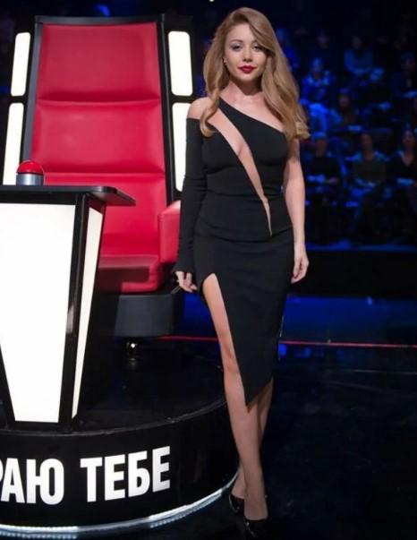 """Тина Кароль показала больше, чем положено, надев """"голое"""" платье"""