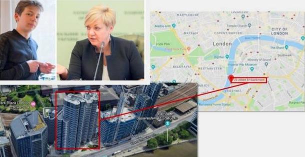 Где живет Гонтарева: ФОТО и ВИДЕО элитной квартиры слили в сеть