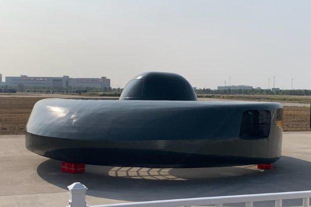 Китайцы создали первую в мире боевую летающую тарелку