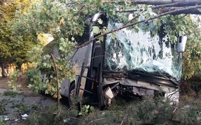 В Румынии 46 украинцев попали в страшное ДТП: пассажирский автобус перевернулся