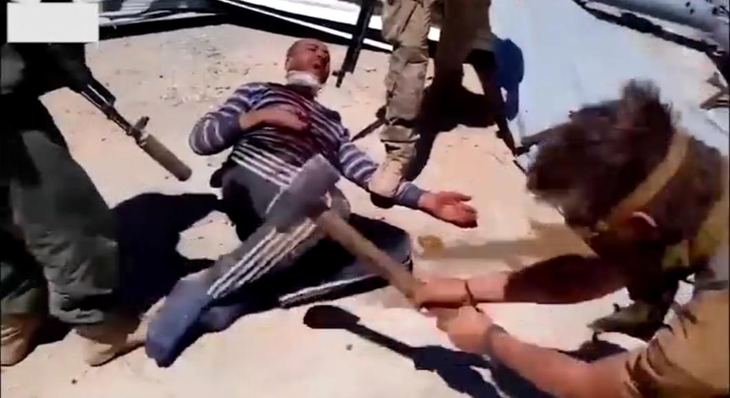 Забили насмерть, отрезали голову и руки: российские наемники расправились с жертвой. ФОТО
