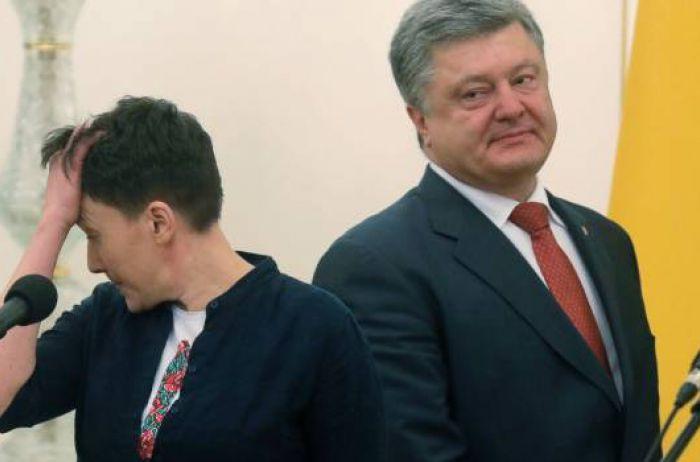 Савченко объяснила, почему считает Порошенко «отвратительным»