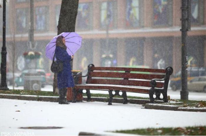 В Украину движется антициклон: когда отступят снегопады