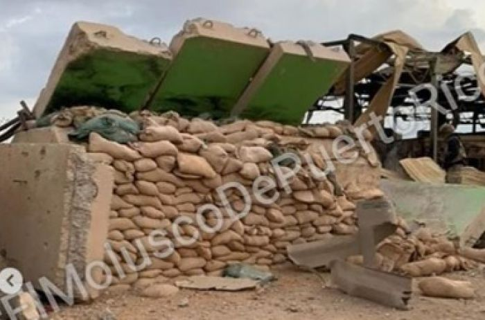 """В сеть """"слили"""" видео разрушенной базы США в Ираке после обстрела"""