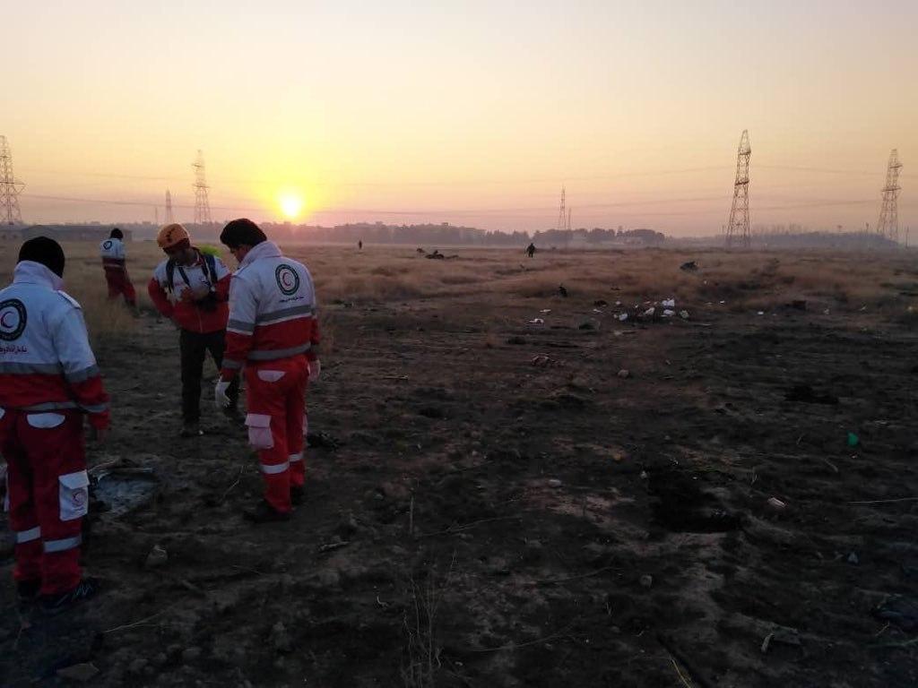 Авиакатастрофа в Иране: в Сети появились ФОТО и ВИДЕО с места крушения украинского самолета