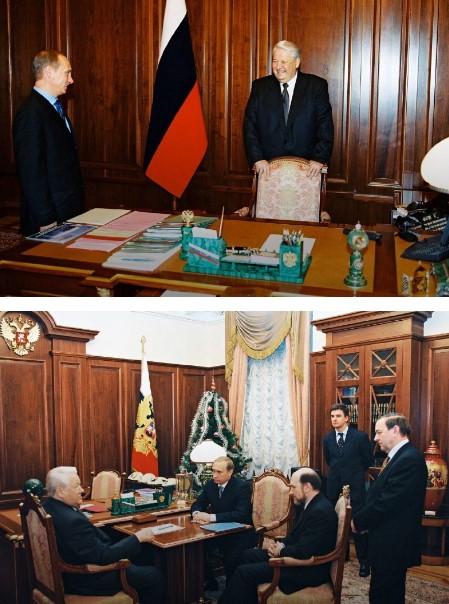 Поразительные метаморфозы: как за 20 лет изменился Путин