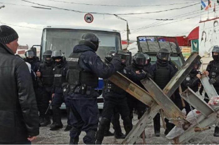 В Харькове прошли массовые задержания из-за столкновений на рынке