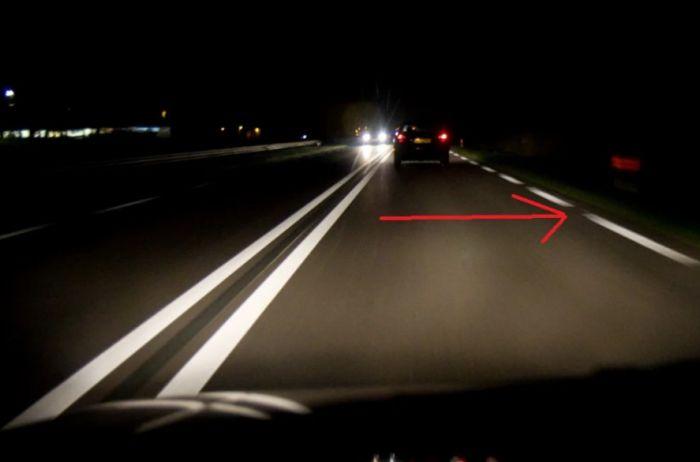 Приемы профессиональных водителей, помогающие им отлично видеть ночную дорогу