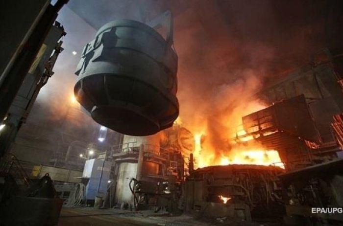 В Украине резко сократилось производство стали