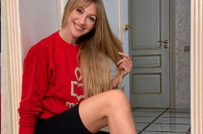 Леся Никитюк разделась и показала то, что обычно девушки прячут