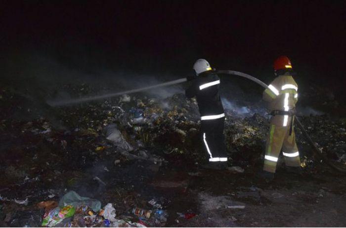 На Николаевщине тушат свалку: на объекте зафиксировали ряд нарушений