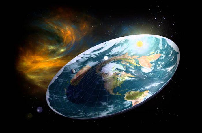 Астрономы: Земля могла быть плоской