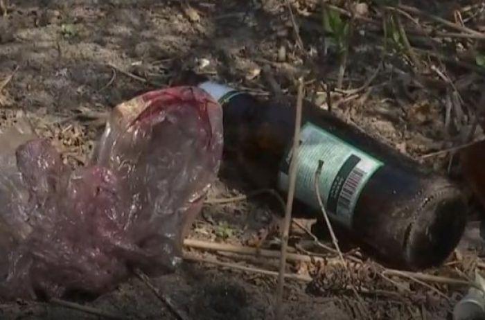 На Киевщине во двор медсестры из-за коронавируса бросили «коктейль Молотова»