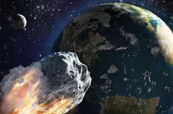 К Земле приближается гигантский астероид. ВИДЕО
