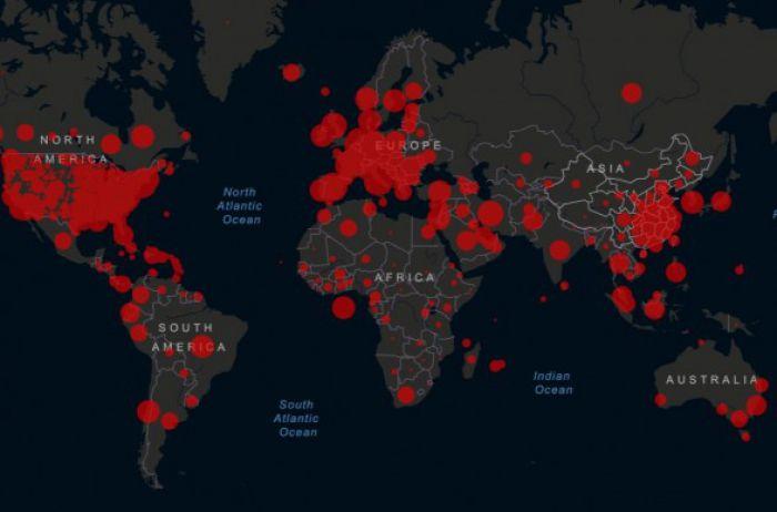 Кількість інфікованих коронавірусом у світі вже нараховує більше 2,5 млн осіб