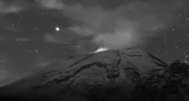 В древнем вулкане Мексики нашли базу НЛО: видеодоказательство