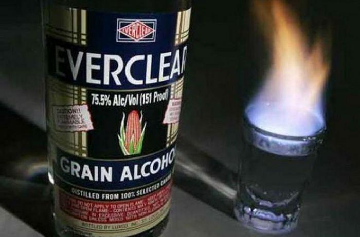 Самый крепкий алкоголь, попробовать который отважится не каждый