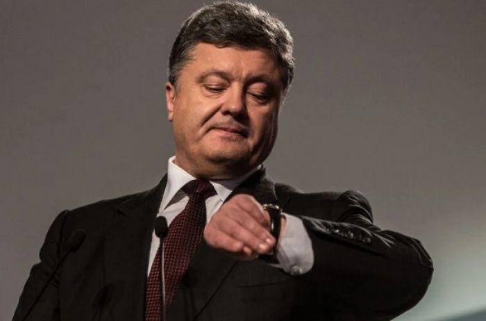 Порошенко требует экстренного созыва СНБО