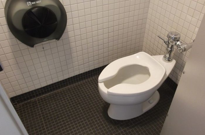 Вот почему в американских туалетах нет ершика