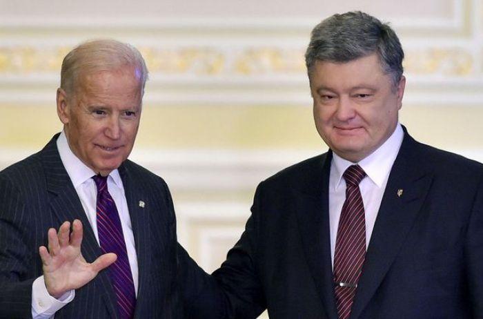 Как Запад отреагировал на скандал с пленками Порошенко-Байдена