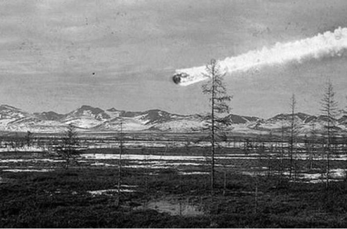 Как падал знаменитый Тунгусский метеорит