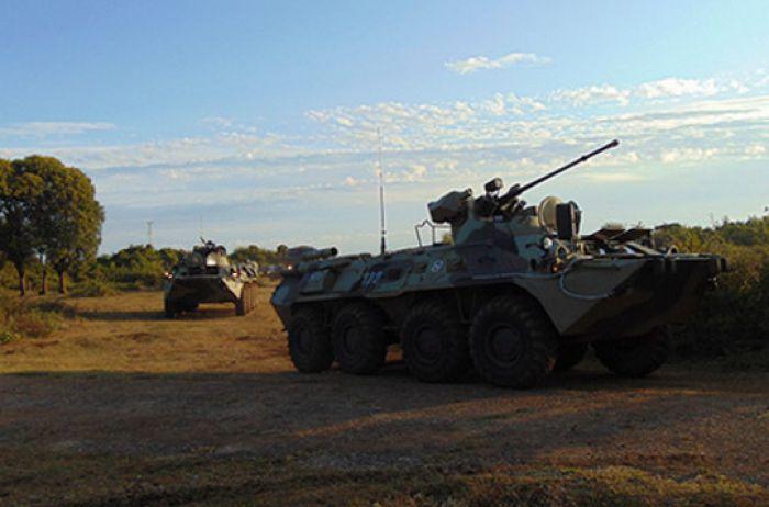Россия вдоль границы с Украиной сосредоточила почти 90 тысяч военных
