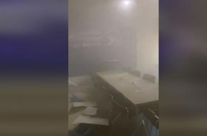 Взрыв гранаты в офисе ОПЗЖ: новые детали
