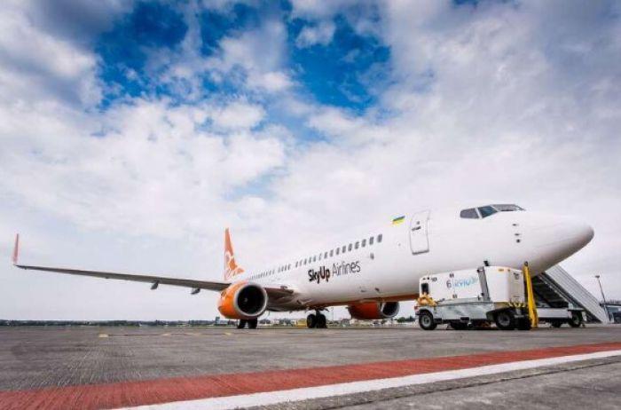 """SkyUp """"заморозила"""" продажу авиабилетов на большинство рейсов"""