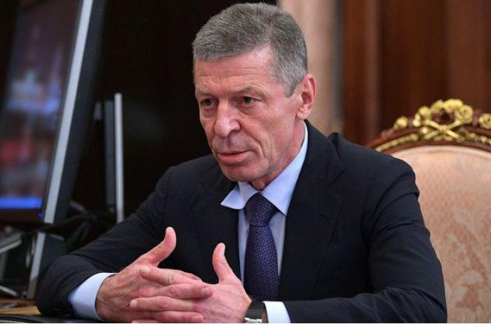 Козак заявил о крушении надежд на мирное решение конфликта на Донбассе