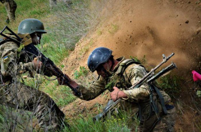 Российские наемники трижды открывали огонь на Донбассе