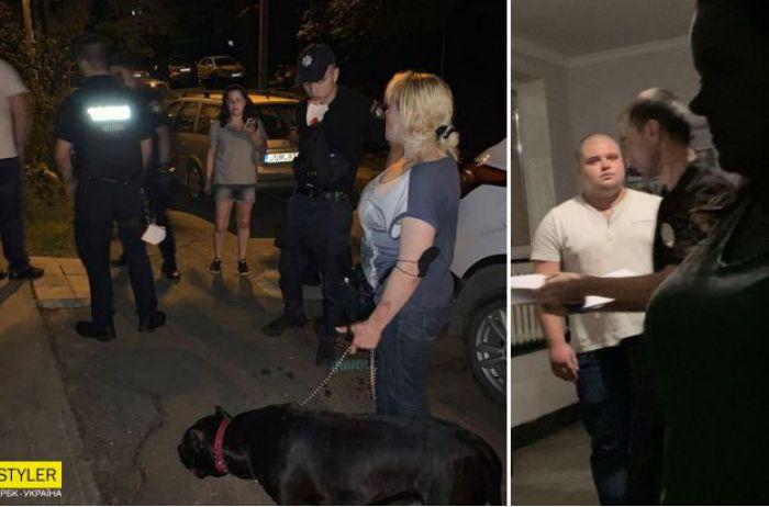 В Черновцах неадекват избил женщину, ее собаку, а также их защитника