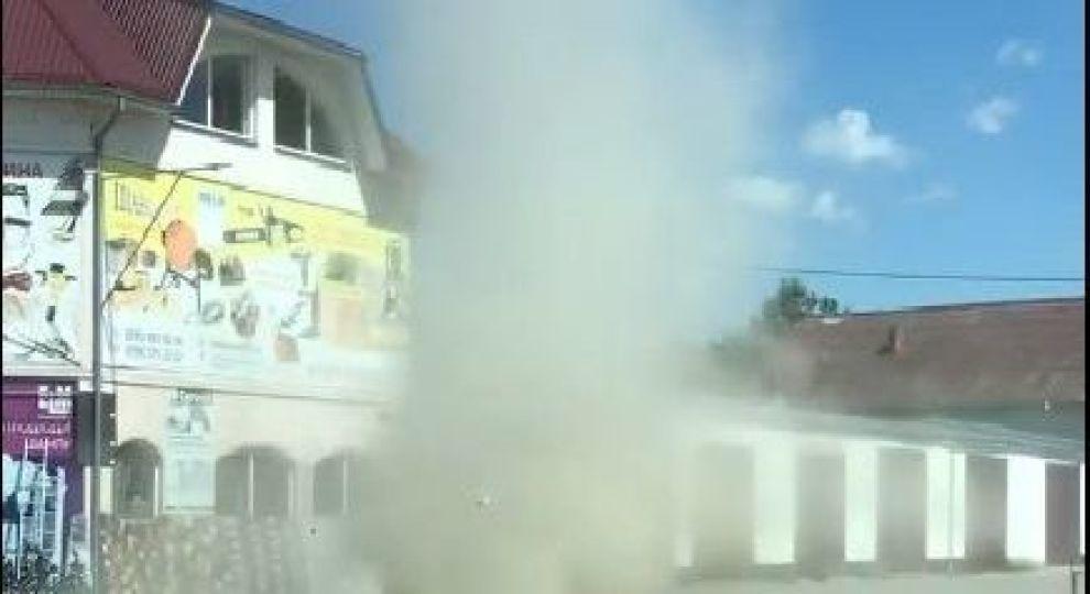 Западную Украину накрыла песчаная буря: ВИДЕО стихии