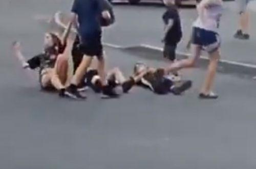 В Днепре дети отличились опасным развлечением на дороге. ВИДЕО