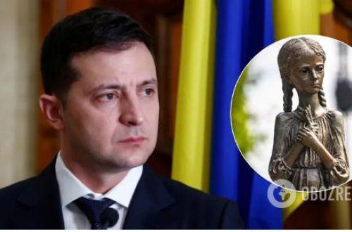 Зеленский поставил сроки полиции на поиски вандалов, повредивших мемориал Голодомора в Киеве
