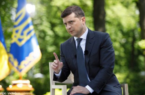 Зеленский назвал дату проведения встречи советников «нормандской четверки»