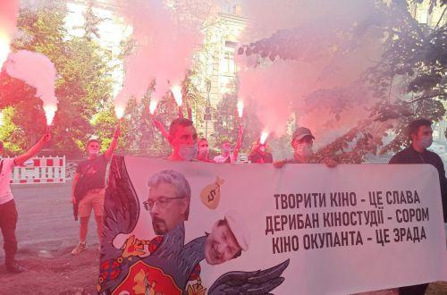 «Ткаченко — міністр проросійської культури!» - націоналісти  вимагають відставки Олександра Ткаченка