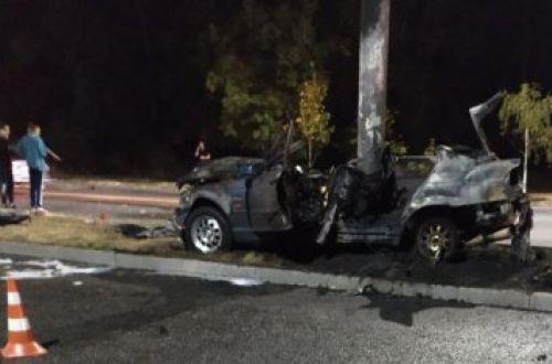 Три человека сгорело заживо в результате ДТП