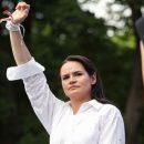 Тихановская провозгласила себя единственным избранным лидером народа